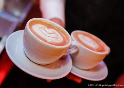 Latte art with love
