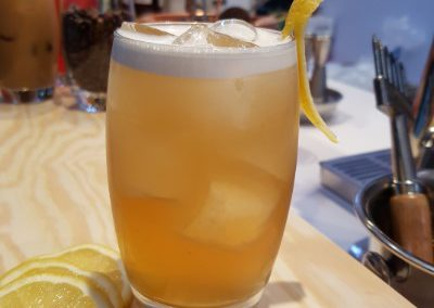 Sweet lemon Nitro tea